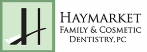 Cosmetic Dentist - Haymarket Family and Cosmetic Dentistry Logo